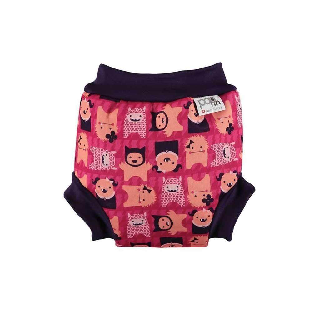 [CLOSE PARENT] Pop-in Swim Nappy Monster Edie (XL sized - from 16 months 13kg)