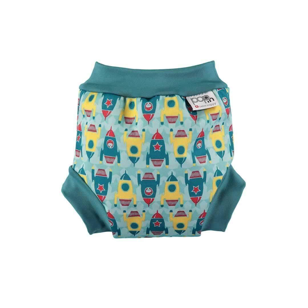 [CLOSE PARENT] Pop-in Swim Nappy Rocket (L sized - from 8 months 9kg)