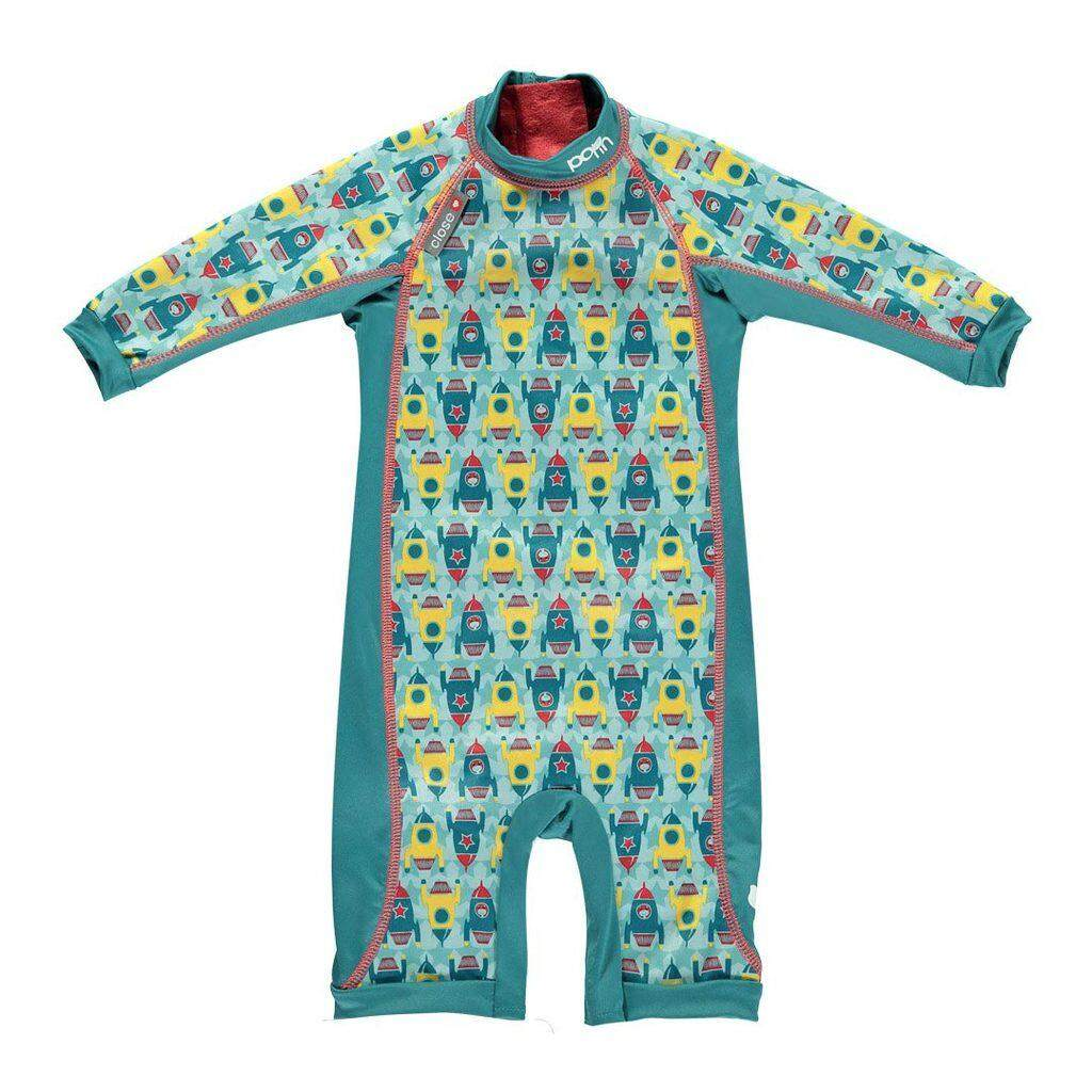 [CLOSE PARENT] Pop-in Toddler Snug Suit Toddler - Rocket (sized XL - for 2-3 yrs) *best buy