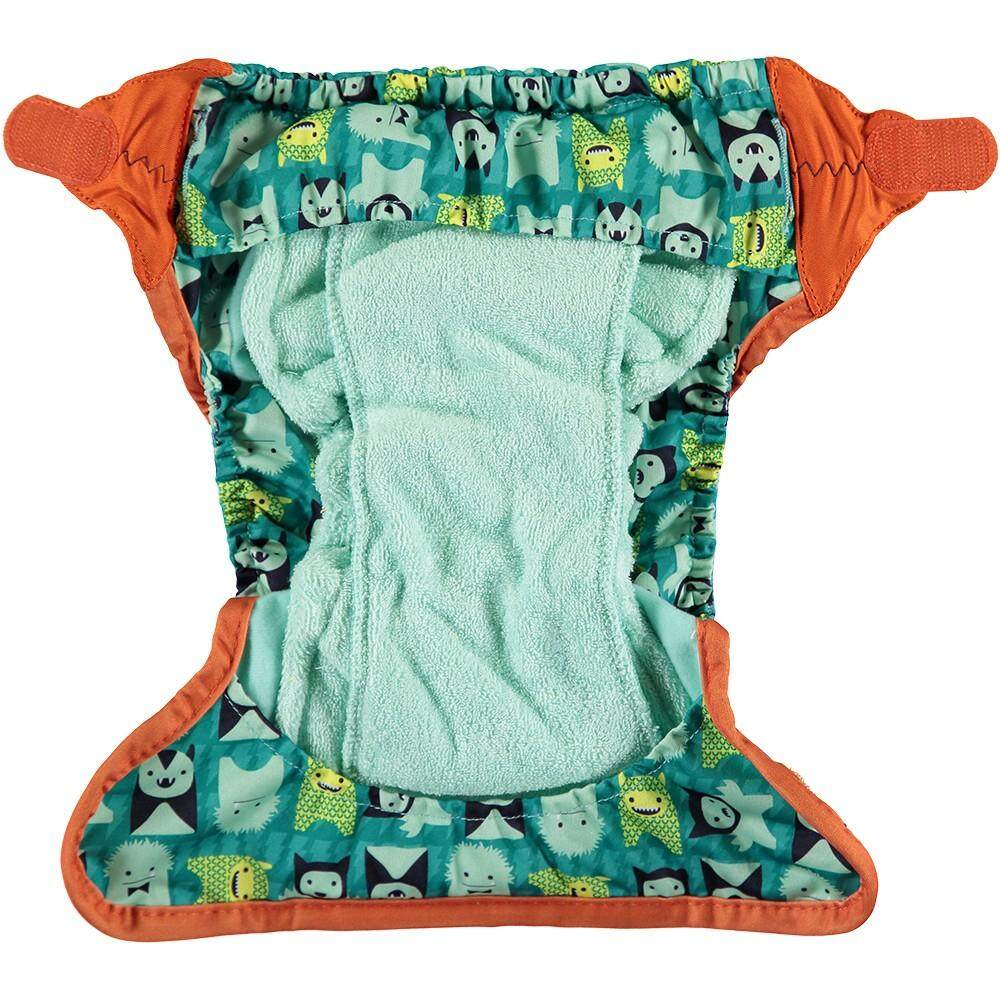 [CLOSE PARENT] Simple Nappy Bamboo - Monster Herman (Up to 16 kg)