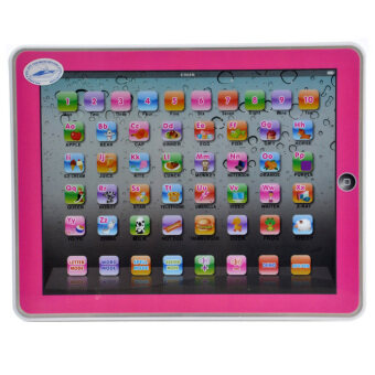 Harga Createx Toys,YS2921C,Pink and Blue colour mixed,Children TabletComputer Laptop Y Pad English Learning & Educational ToysElectronic Notebook Early Learning Machine Game Phone