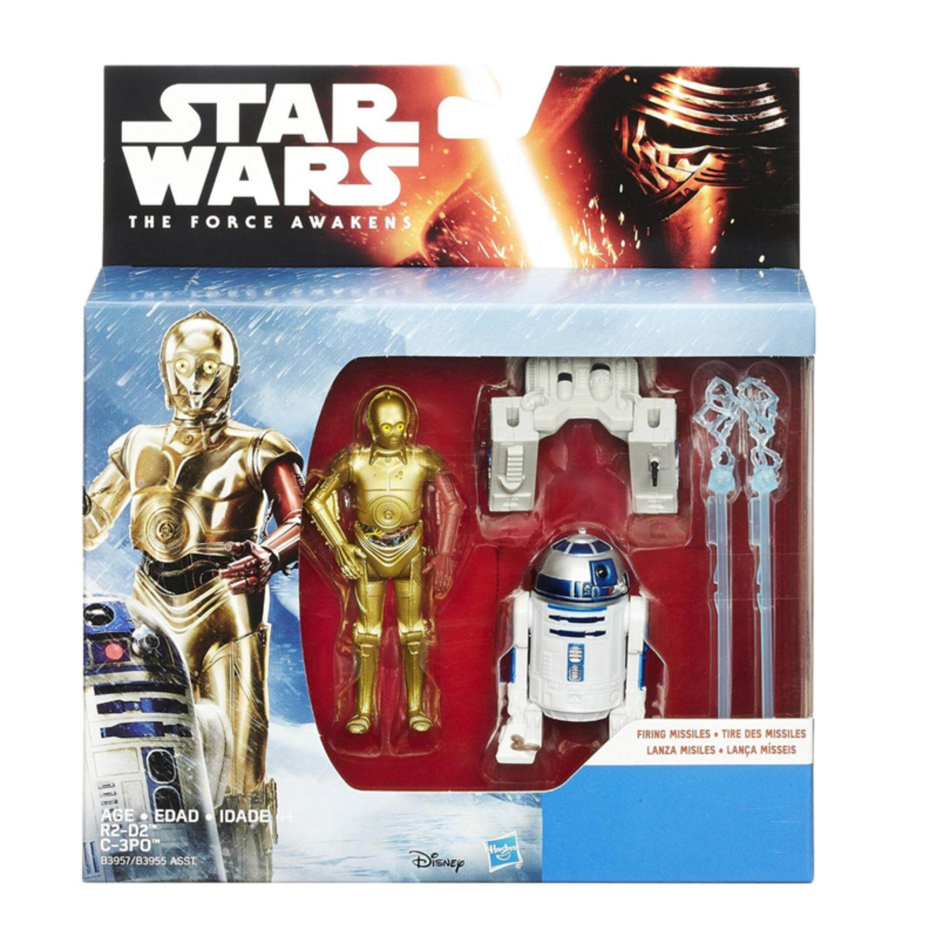 Disney Star Wars E7 3.75 Inches Figures - C3PO & R2-D2 Toys for boys