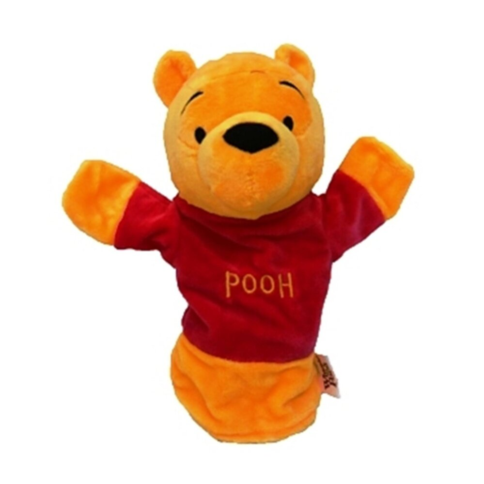 Disney Winnie The Pooh Hand Puppet Toy - Yellow Colour baby toys