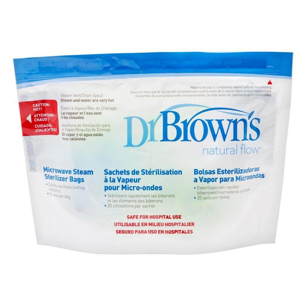 Dr. Brown\'s Microwave Steam Sterilizer Bag (5-Pack)
