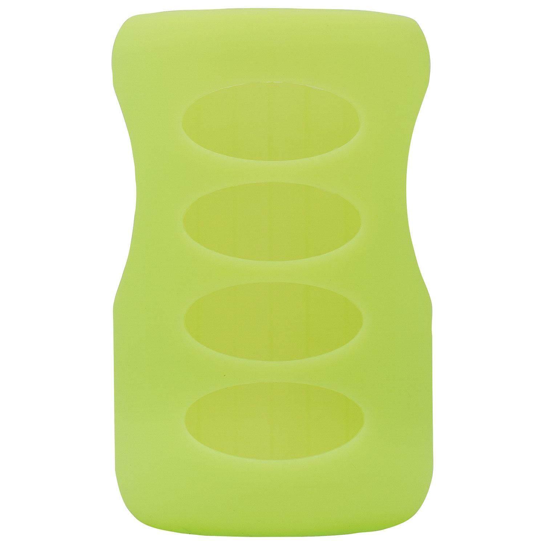 Dr. Brown\'s Natural Flow 9 oz / 270 ml Wide-Neck Glass Bottle Sleeve - Light Green