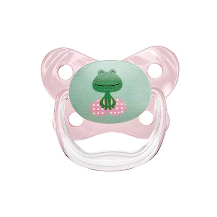 Dr. Brown\'s PreVent Contoured BUTTERFLY SHIELD Pacifier - Stage 2 * 6-12M - Pink (1-Pack)