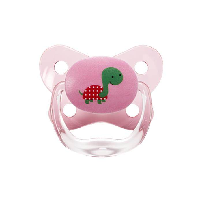 Dr. Brown\'s PreVent Contoured BUTTERFLY SHIELD Pacifier - Stage 3 * 12+M - Pink (1-Pack)