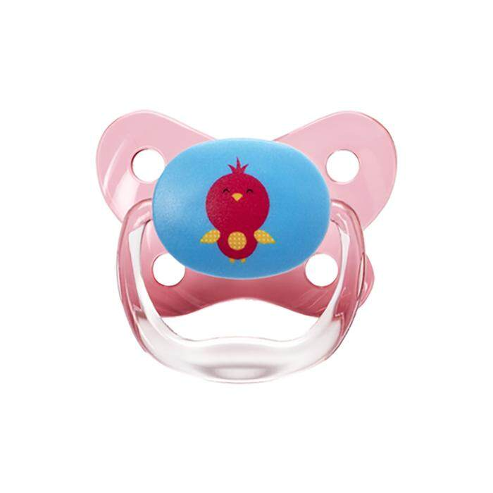 Dr. Brown's PreVent Contoured BUTTERFLY SHIELD Pacifier - Stage 3 * 12+M - Pink (1-Pack)