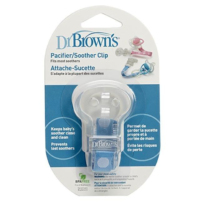 Dr. Brown's - Pacifier Soother Clip
