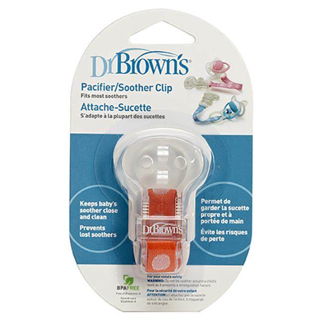 Dr. Brown\'s - Pacifier Soother Clip