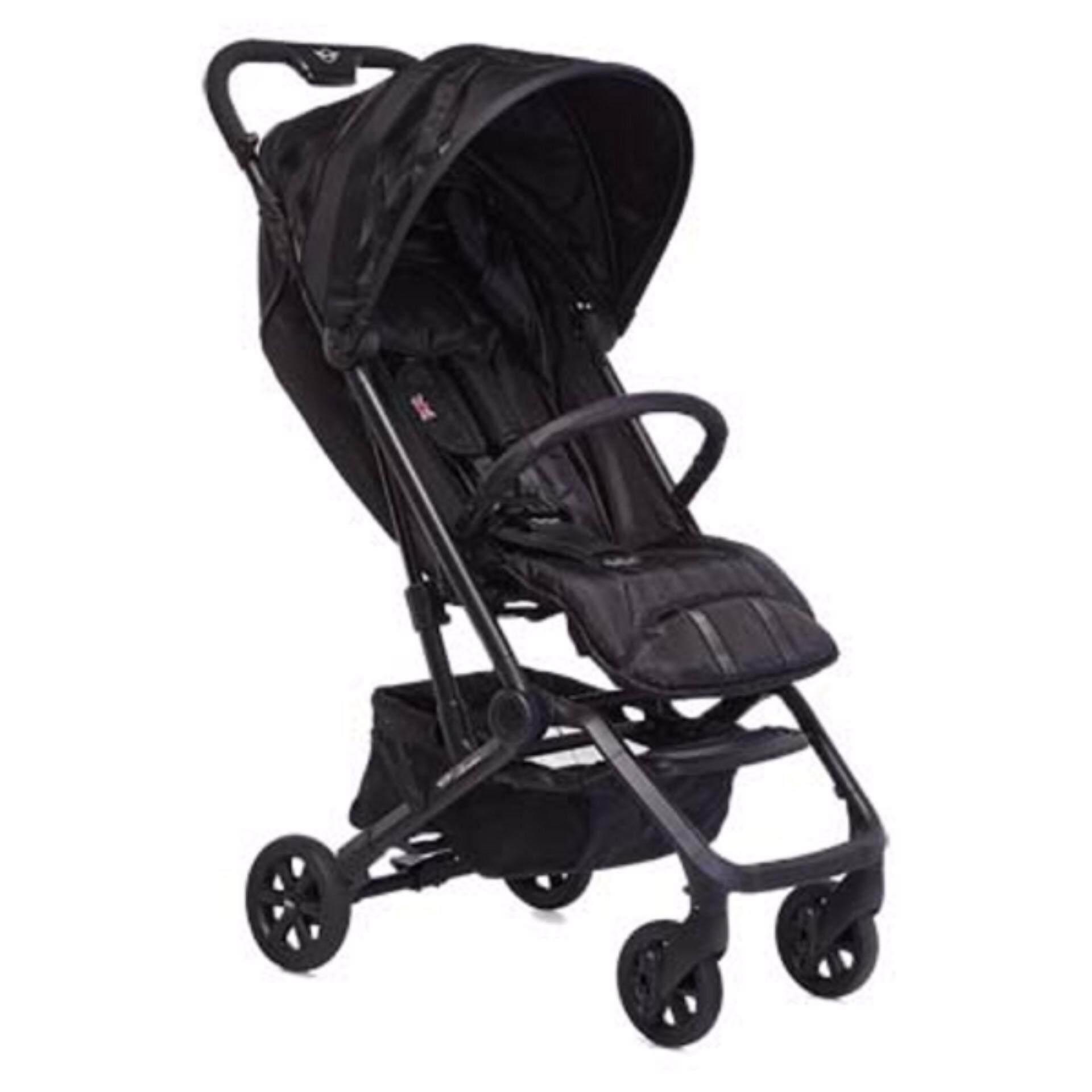 EasyWalker MINI XS Stroller (Luxury Black)