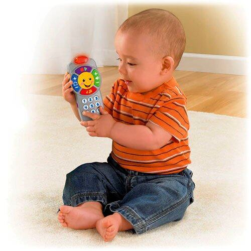 Fisher Price - FP LNL INFANT CLICK & LEARN REMOTE (6 - 36 month) baby toys