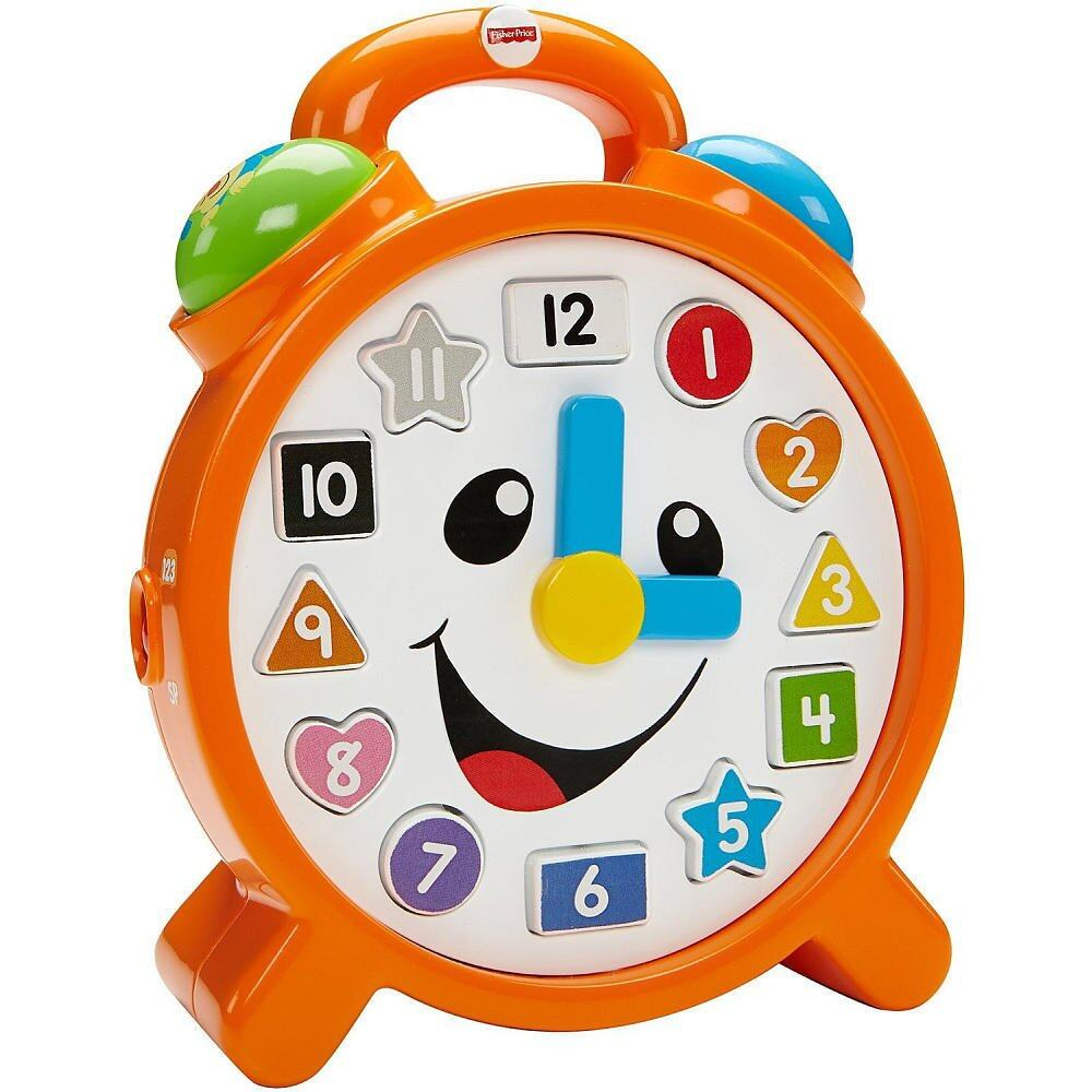 Fisher Price -FP LNL INFANT CLOCK (9 - 36 month) baby toys