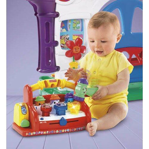 Fisher Price - FP LNL INFANT LEARNING TOOLBENCH (6 - 36 month) baby toys