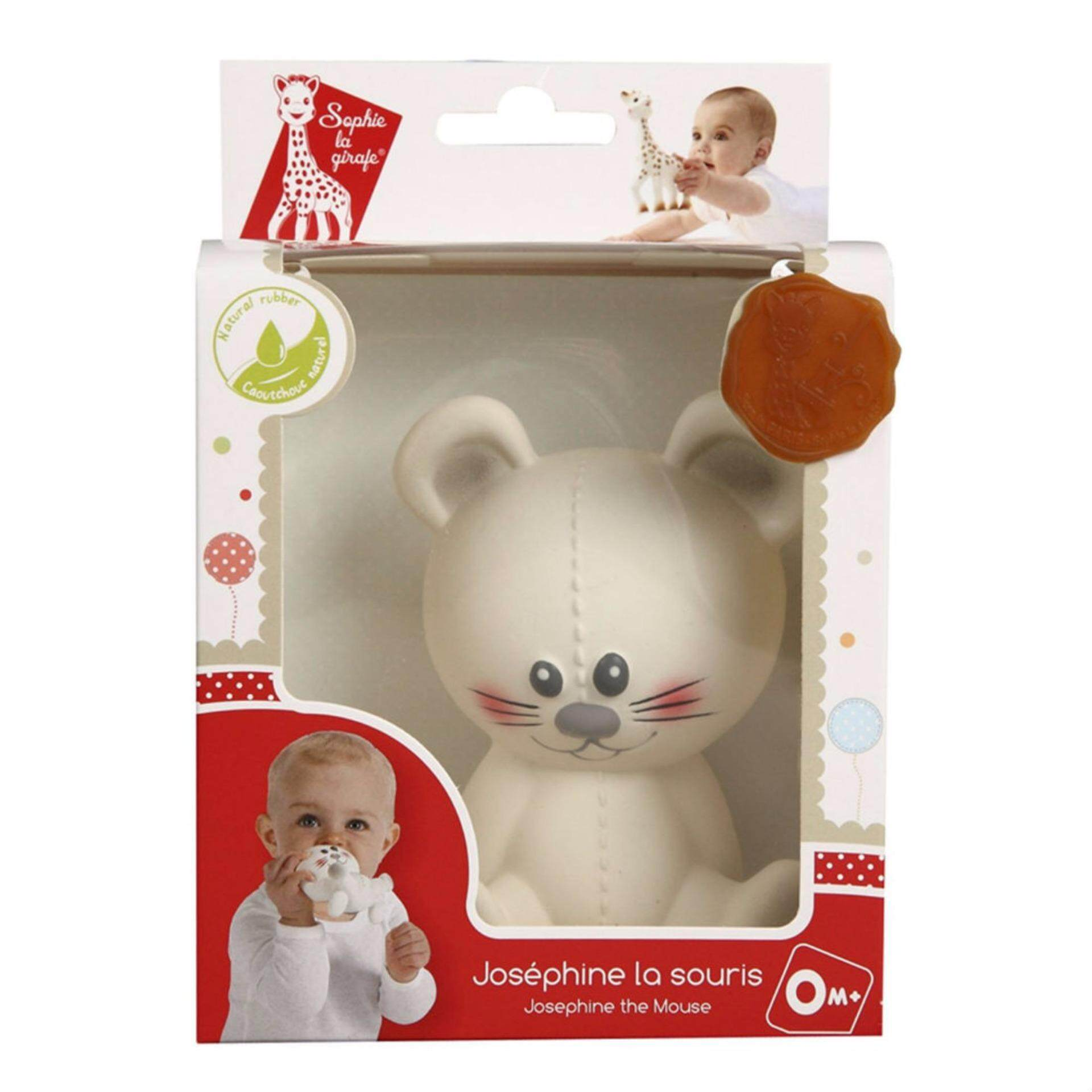 [FRANCE - SOPHIE LA GIRAFE] Josphine the Mouse Teether (VULLI)