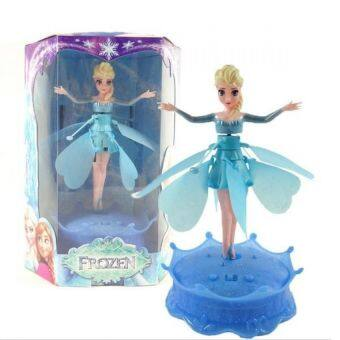 Harga Frozen Elsa Flying Dolls with Light and Music Brinquedos Kids
