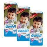 GENKI! PANTS MEGA PACK XXL36+ Free 4pcs x 3PACKS