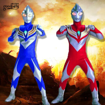Halloween costume Children's Day clothing Superman clothing Ultraman Tiga clothes children Altman clothing