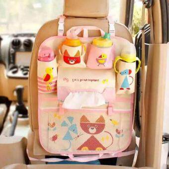 Hanging Bag Oxford Fabric Back Seat Multi-Pocket Baby Kids Car Seat Hanging Bag Auto