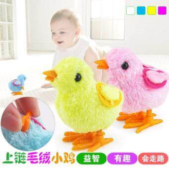 HOT Infant Child Boys Girls Hopping Wind-up Toys Easter Chick Plastic Toy Lovely