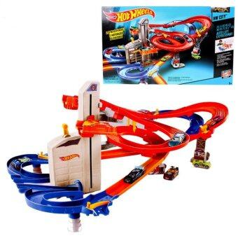 Hot Wheels CDR08 Roundabout track toy kids toys Plastic metalminiatures scale cars track model CDR08 classic antique toy car