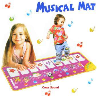 Harga HY1333 100x36cm new baby music carpet /baby music mat /Baby KidChild Piano Music