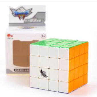 Harga 4x4x4 Cyclone Boys Stickerless Magic Cube Puzzle Intelligence Toy High Speed