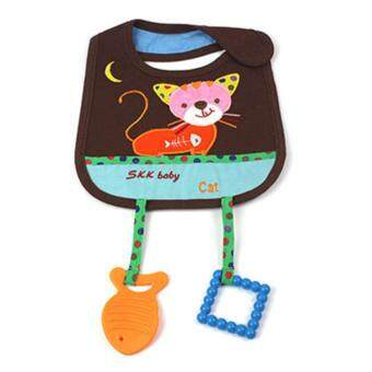 Harga SKK Baby Applique Feeder Bib With Teethers