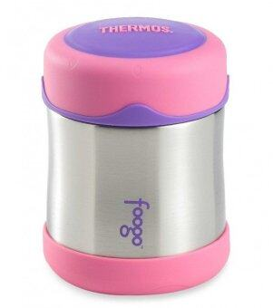 Harga Thermos - Foogo Food Jar 295ml ( Pink )
