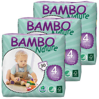 Harga Bambo Nature Maxi S4(30) - 3 packs