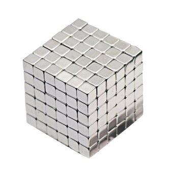 Harga 4mm 216pcs Cube Magnetic Balls 6*6*6 Magico Magnet Puzzle Educational Toy Metaballs