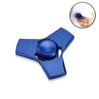 Harga niceEshop Fidget Spinner,Hand Spinner Finger Toy Focus Toy Stocking Stuffer Perfect For ADD, ADHD, Anxiety, And Stress Relief (Blue)
