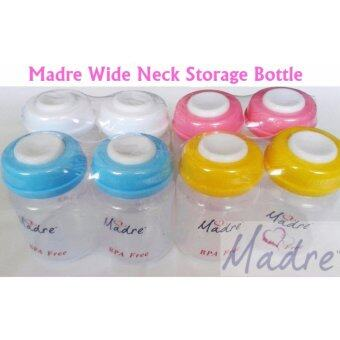 Harga Madre Wide Neck Storage Bottle 2set(4pcs)