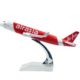 Harga Aisa Air Wings Airbus 320 16cm airplane Models Child Birthday Gift Plane ModelsTtoys