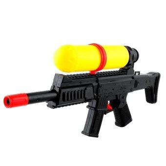 Harga Summer Air Pressure Gun Water Squirt Toy Yellow &Amp; Black Beachparty Game Kids