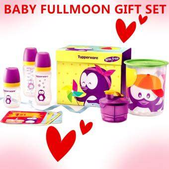Harga Tupperware Twinkles Baby Set (5items) FREE Shipping &Milestone Card - Original Natural Centre