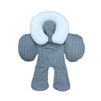 Harga JJ Cole Baby Head and Body Support Pillow - Grey