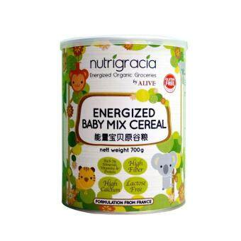 Harga NUTRIGRACIA - Energized Baby Mix Cereal (700gm)