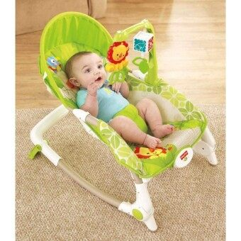 Harga Fisher-Price Newborn to Toddler Portable Rocker Steel Base