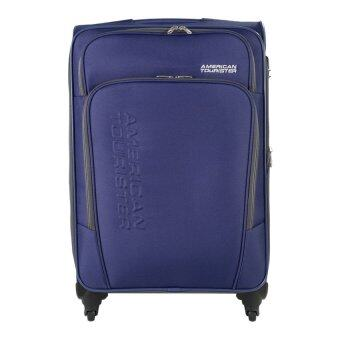 Harga American Tourister Featherlite II Spinner 66/24 Royal Blue