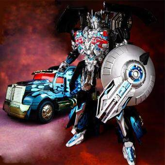 Harga Transfomers Autobot TF Optimus Prime Commander Alloy Metal Oversized Movie Edition Action Figure Toys