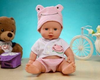 Harga KIDDING Lifelike Realistic Baby Dolls Children Play Dolls 30 CM Height Simulation Doll-Pink