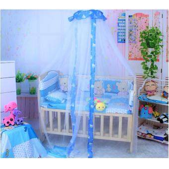 Harga Baby Crib canopy mosquito net Baby Cot mosquito net For baby Bed with Stand