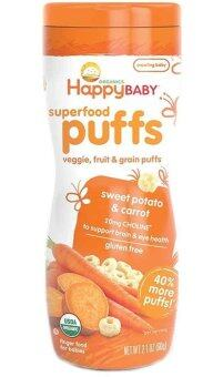 Harga Happy Baby Organic Puffs (Sweet Potato & Carrot)