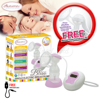 Harga Autumnz BLISS Convertible Single Electric/Manual Breastpump - siebp8615