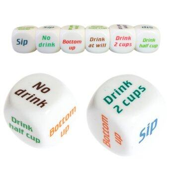 Harga 10pcs Drink Decider Die Games Bar Party Pub Dice Fun Funny Toy Drinking Game