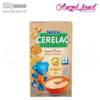 Harga Nestle Cerelac Wheat & Honey 6M+ (100G)