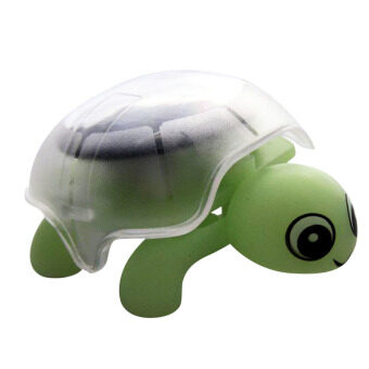 Harga 360WISH Mini Solar Powered Energy Educational Toy Cute Turtle Tortoise Gadget Gift - Light Green