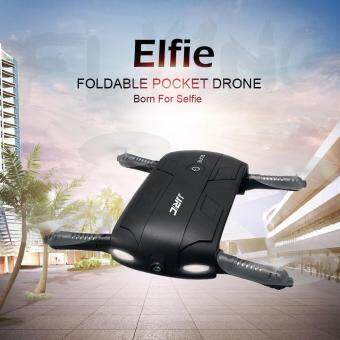 Harga JJRC H37 ELFIE Folding Pocket Selfie Drone RC Quadcopter with WiFi FPV 0.3MP Camera Altitude Hold