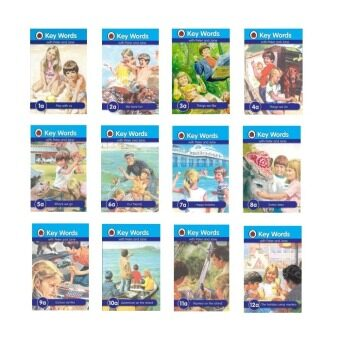 Harga Ladybird Keywords with Peter And Jane 1a-12a (12 Books)